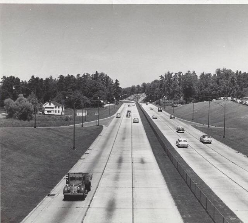 How I-75 Georgia looked like back in 1955.