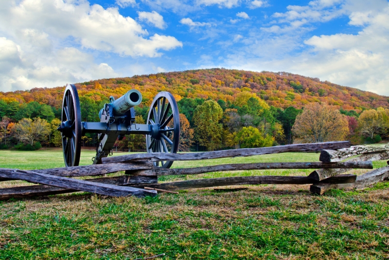 This picture is property of Shutterstock. Kennesaw Battle Field Park